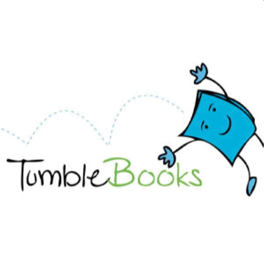 tumblebooks logo on white background