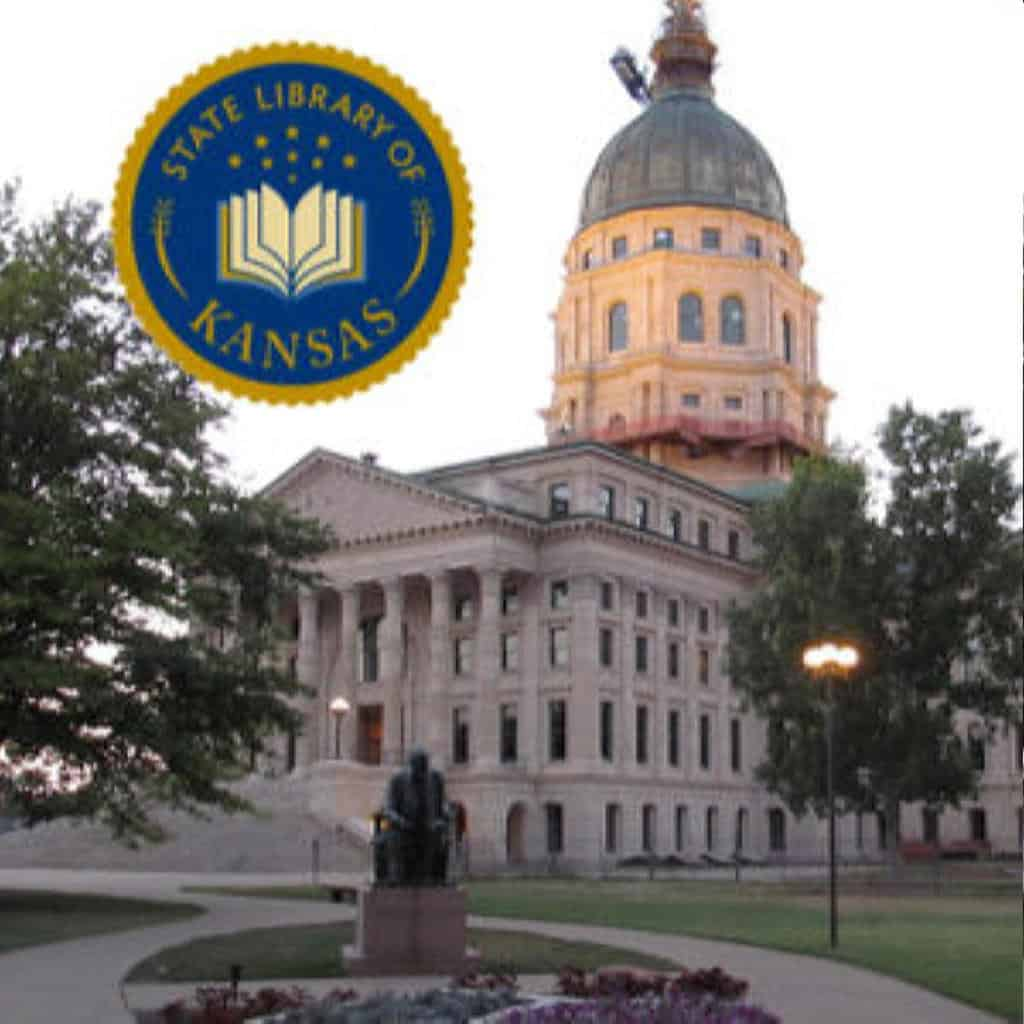 photo of the Kansas State Capitol Building in Topeka