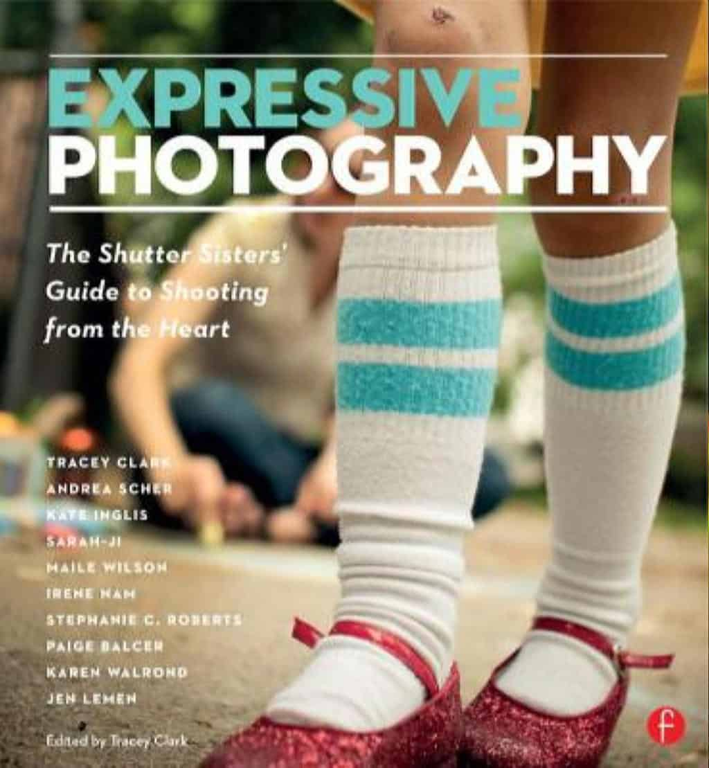 "photo of the book cover for ""Expressive Photography"""