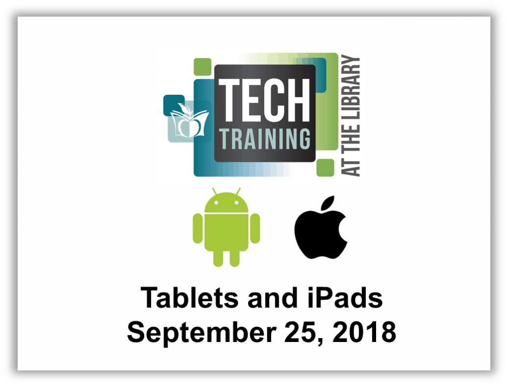 Tablets and iPads Presentation