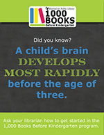 A child's brain develops most rapidly before the age of three.